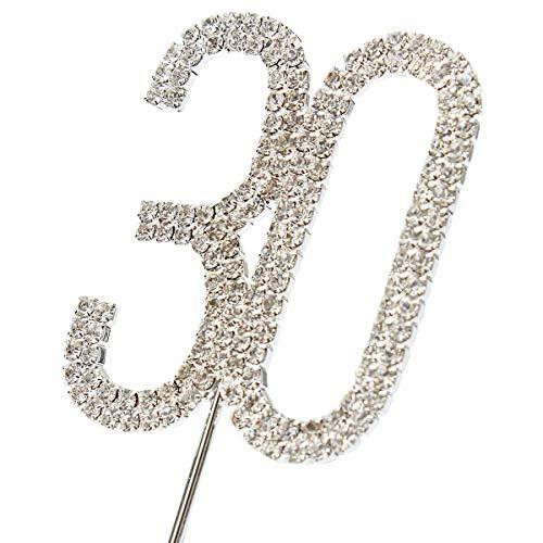 JJOnlineStore - Decoración para Tartas con Diamantes de...