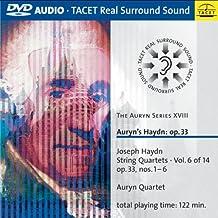 The Auryn Series XVIII : Auryn's Haydn: op. 33