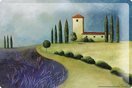 Preisvergleich Produktbild Blechschild Welt Reise Andalusien Gemälde Wand Deko Schild 20X30 cm