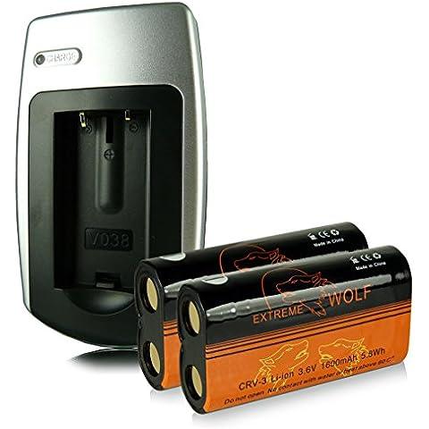 Power Kit [ Caricatore + 2x Batteria ] CR-V3 |CRV-3