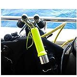 Mini 10cm 1200LM CREE Q5 LED Bulbs Handheld Portable Diving Flashlight Plastic Material - Best Reviews Guide