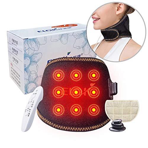 Elektrische Heizkissen Für Hals Schulter Und Rückenschmerzen Relief Mit Fixierband Feucht/Trocken Beheizte Pad Mit Auto Shut Off 19