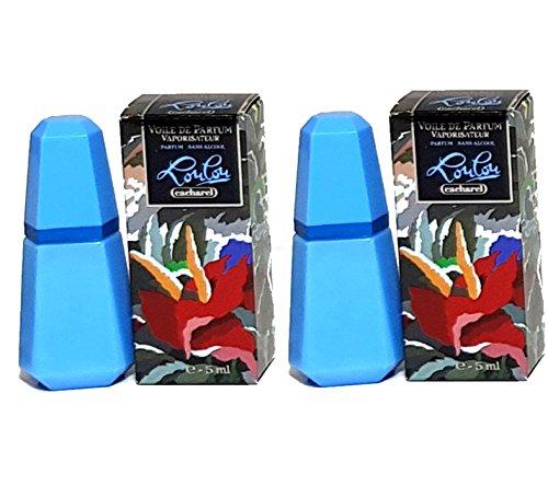 Cacharel Parfum Miniaturen 2er Set - Cacharel Lou Lou Voile de Parfum 2x5ml = 10ml (Lou Lou Parfum)