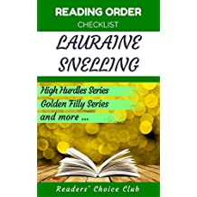 Reading order checklist: Lauraine Snelling - Series read order: High Hurdles Series , Golden Filly Series  and more! (English Edition)