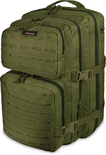 normani US Laser Tec Assault Rucksack Farbe Oliv Größe 50 Liter