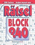 Rätselblock 240 - Eberhard Krüger