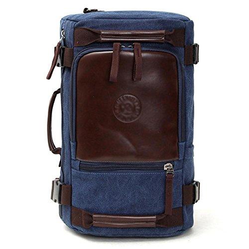 SZH&BEIB Fashion Canvas Rucksack Unisex Outdoor-Reisen Gelegenheits Daypack für Schule oder Arbeit Laptop-Tasche A