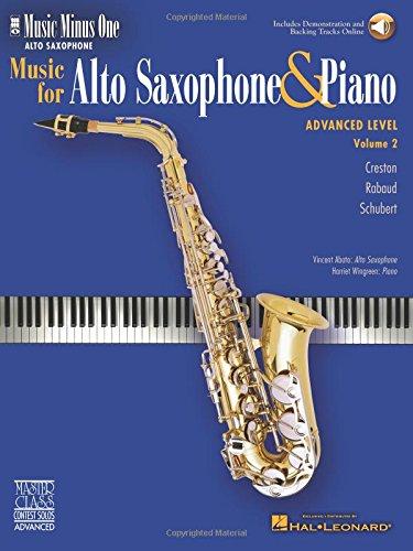Advanced Alto Sax Solos - Volume 2: Music Minus One Alto Saxophone