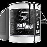 Full Dip - Bidón de 4 l de vinilo líquido color negro mate