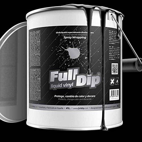 Full Dip Bidón 4L líquido Vinilo negro