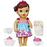 Baby Alive Lil' Sips Baby Has a Tea Party Doll (Brunette) by Baby Alive
