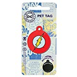 Lizensiertes DC Comics Marvel Comic Hero Haustier Hund Katze ID-Tags 38 mm. Die Flash.