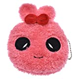 YNuth Chat Design Porte-monnaie En Peluche Kawaii Style (rouge)