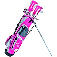 LONGRIDGE GOLF PACKAGE CHALLENGER CADET GIRLS PACKAGE, SILVER / PINK