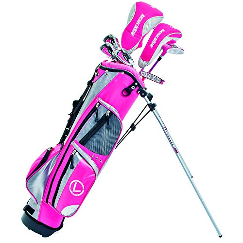 LONGRIDGE Golf Package Challenger Cadet Girls Package, Silver/PINK -