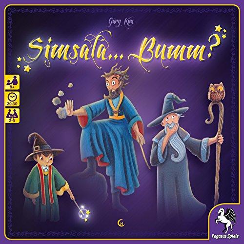 Pegasus Spiele 52154G - Simsala... Bumm?, Brettspiele