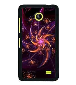 Fuson Designer Back Case Cover for Nokia XL (Shining Dazzling Sparkling Radiant Twinkling)