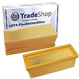 Filtre plissé plat/filtre à lamelles/filtre HEPA pour Kärcher 6.414-498 2501 2501TE 2601 2601plus 3001 SE2001 SE3001 SE5100 SE6100plus 3001hot 2701 A2701 2701TE A2731pt 2801 2801plus A2801plus