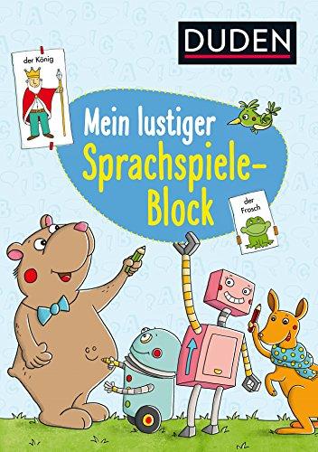 Mein lustiger Sprachspiele-Block (DUDEN Kinderwissen Vorschule)