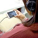 Aux-Kabel, Kinps 1,2m Nylon geflochten Audiokabel klinke 3,5mm für auto,Kopfhörer,Lautsprecher, iPhone, iPad, iPod, Samsung, und MP3 Player. - 4