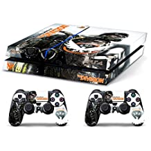 Skin PS4 HD TOM CLANCY'S THE DIVISION c - limited edition DECAL COVER ADHESIVO playstation 4 SONY BUNDLE