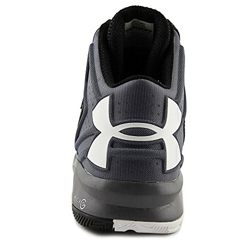 Under Armour Torch Synthetik BasketballSchuh Gph/Wht