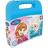 Frozen - Maleta con 2 puzzles, 20 piezas (Educa Borrás 16511.0)