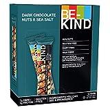 BE-KIND Snack al gusto di Cioccolato Fondente & Sale Marino - Barretta Senza Glutine - 12 barrette x40g
