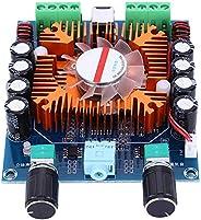 لوحة مضخم الطاقة الرقمية XH-A372، لوحة مضخم طاقة ستيريو ستيريو إخراج 4 قنوات للصوت الرقمي مزود بأربع قناة، لوح