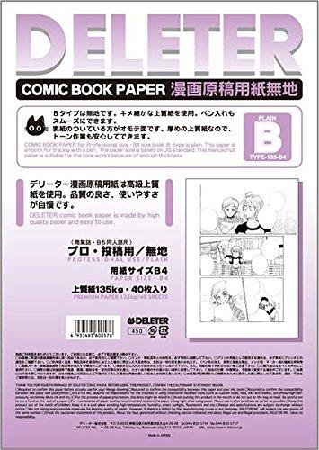 Kunst Farbe Cartoon Manuskriptpapier B-4 Krachmacher Basteln, Malen & Nähen