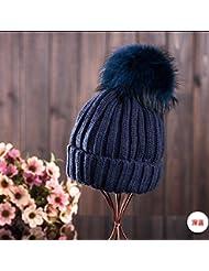 Qiaoba- Chapeau à bonnet en laine épais