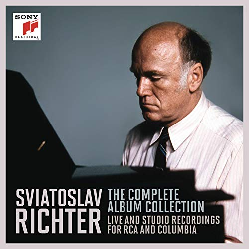 Sviatoslav Richter - The Complete Album Collection / Live and Studio Recordings for RCA and Columbia