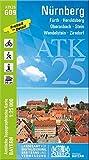 ATK25-G09 Nürnberg (Amtliche Topographische Karte 1:25000): Fürth, Heroldsberg, Oberasberg, Stein, Wendelstein, Zirndorf (ATK25 Amtliche Topographische Karte 1:25000 Bayern)