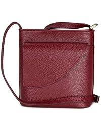 323118de8da18 Belli ital. Ledertasche Damen Umhängetasche Handtasche Schultertasche mit  zusätzlichem Klappfach - 18