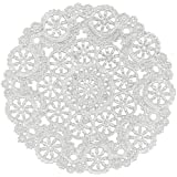 ROYAL CONSUMER PRODUCTS - Paper Doily, White Medallion Lace, 10-In., 12-Pk.