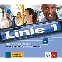 Linie 1 A1 - 4 Audio-CDs zum Kurs- und Übungsbuch