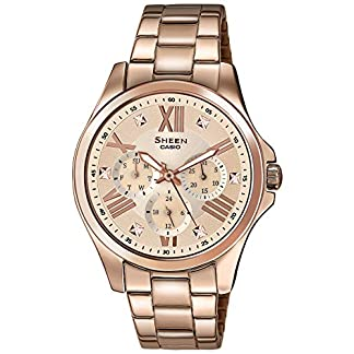Casio Sheen Analog Multi-Color Dial Women's Watch – SHE-3806PG-9A (SX149)