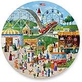 Gibsons Puzzle - Fairground Frolics (500 pieces - circular)