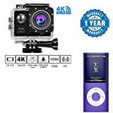 Best Low Light Camcorders - Captcha 4K WIFI Sports Action Camera Ultra HD Review