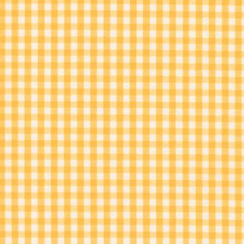 Lorena Batist Bettwäsche Basel Mini-Karo gelb 135x200 + 80x80