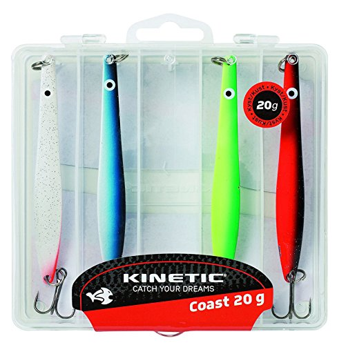 KINETIC Silver Arrow, Meerforellen- und Hornhecht-Blinker-Set 16g oder 20g (20g)