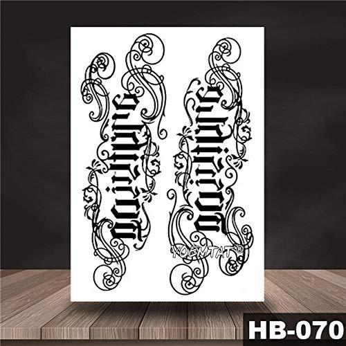 tzxdbh 5pcs-Yin Yang Yang Shi Totem Impermeabile Tatuaggio Adesivo Tatuaggio Guerriero Maori Body Art Braccio Tatuaggio Tatuaggio Tatuaggio 5 Pezzi-