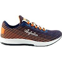 AUSTRALIAN Scarpe Sportive Ginnastica Fitness Donna Art. AU416 Orange-Navy 95d11ca4537