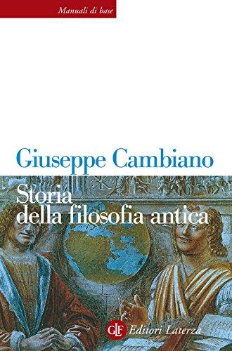 Storia della filosofia antica (Manuali di base)
