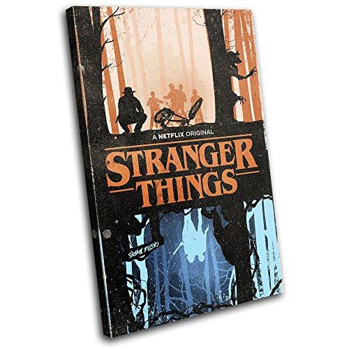 bold-bloc-design-stranger-things-netflix-poster-tv-75x50cm-single-leinwand-kunstdruck-box-gerahmte-b