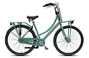 28 zoll damen hollandrad nostalgie fahrrad alu damen vogue elite plus 7 gang rollerbrake mint. Black Bedroom Furniture Sets. Home Design Ideas