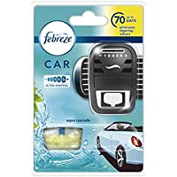 Febreze 7 ml Car Aqua Cascade Air Freshener Starter Kit - Pack of 4 - ukpricecomparsion.eu