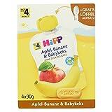 Hipp Apfel-Banane und Babykeks, Bio, 4 Beutel, 360 g