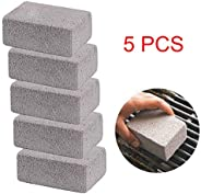 Grill Griddle Cleaning Brick Block, Reusable Non-Toxic Barbecue Stone, Remove Grease Stains Residual Dirt, for
