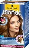 Schwarzkopf Blonde Aufheller Stufe 3, LD für dunkles Haar, 2er Pack (2 x 142 ml)